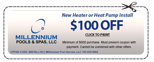 new heater or heat pump install coupon