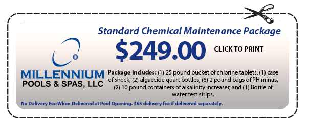 standard chemical maintenance package coupon